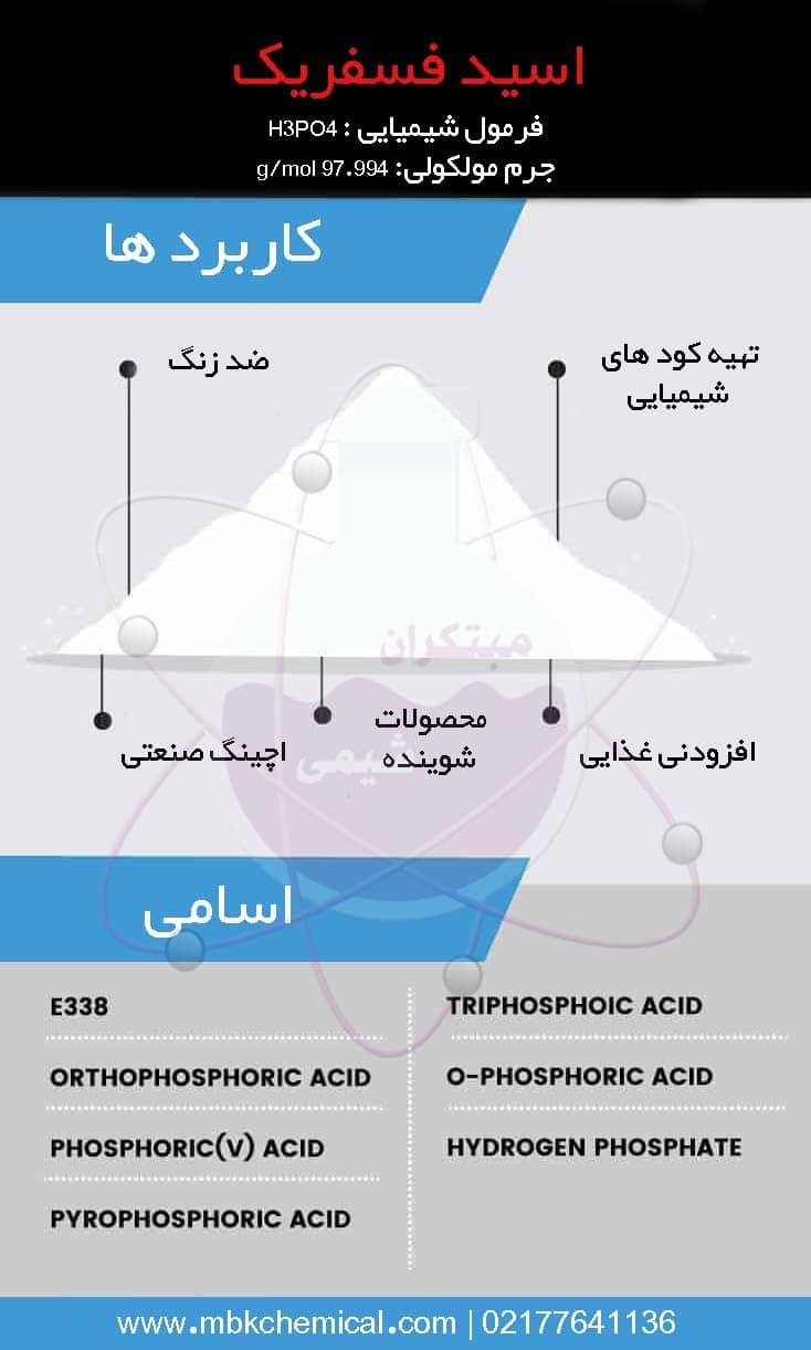 کاربردهای اسید فسفریک