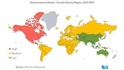 بازار خرید و فروش دی اتانول آمین در جهان